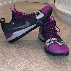 Kobe AD Black and Purple Size 13